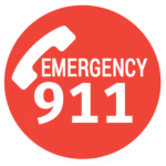 Always dial 911 in an emergency